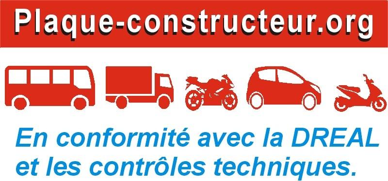 Plaque Constructeur